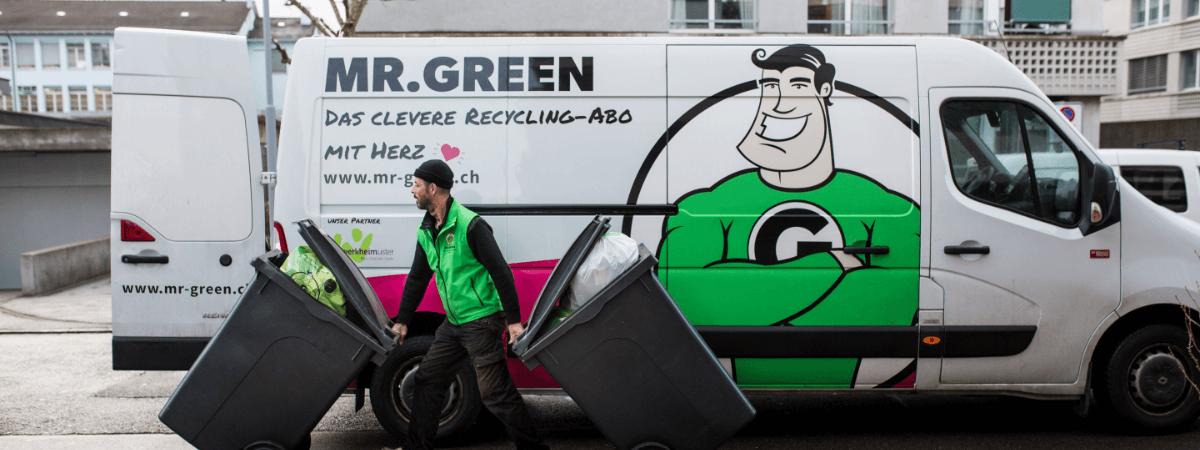 Credit-Auction Landingpage Mr. Green AG swisspeers finanzierung